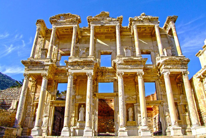 Guided Ephesus tours Celsus Library General