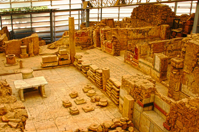 Private guided Ephesus tours terrace houses general