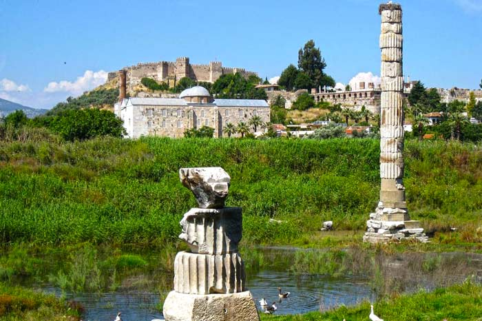 Private tour ephesus Artemis temple